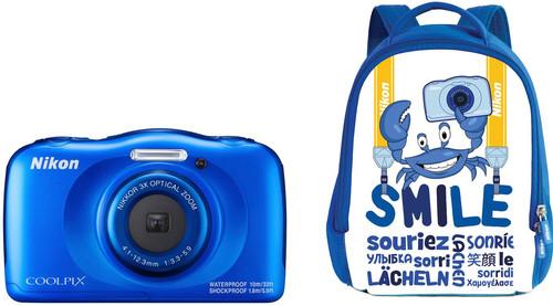 Nikon Coolpix W100 Backpack kit Blue Main Image