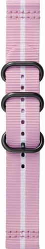 Samsung Gear Sport Premium Nylon Horlogeband Roze Main Image
