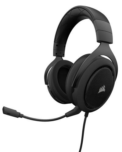 Corsair HS50 Stereo Gaming Headset Zwart Main Image