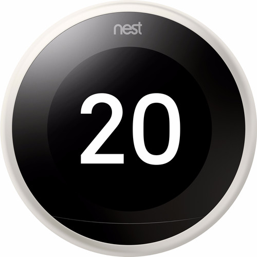 Google Nest Learning Thermostat V3 Premium Wit met installatie Main Image