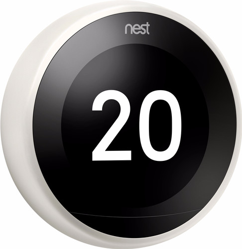 Google Nest Learning Thermostat V3 Premium Wit Main Image