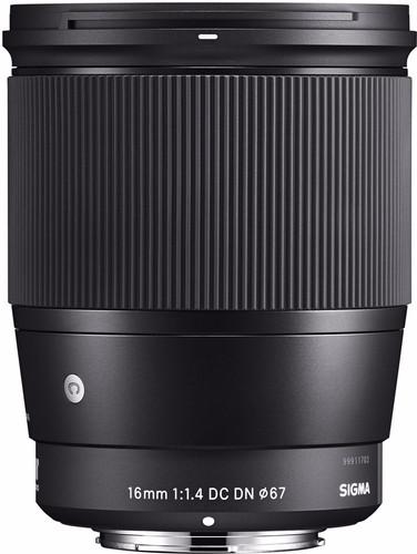 Sigma 16mm f/1.4 DC DN Contemporary E Mount Main Image