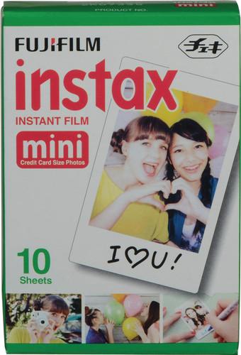 Fujifilm Instax Colorfilm Mini Glossy (10 stuks) Main Image