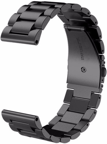Just in Case Samsung Gear Sport RVS Horlogeband Zwart Main Image