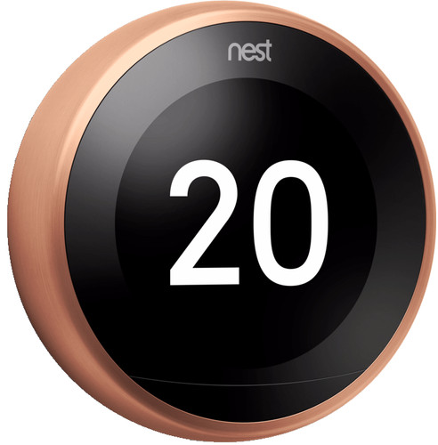 Google Nest Learning Thermostat V3 Premium Copper Main Image