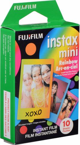 Fujifilm Instax Colorfilm Mini Rainbow (10 pieces) Main Image