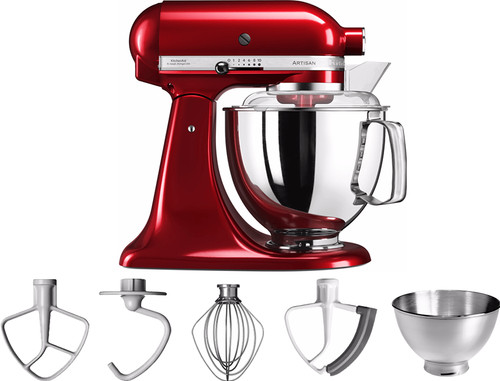 KitchenAid Artisan Mixer 5KSM175PS Appelrood Main Image