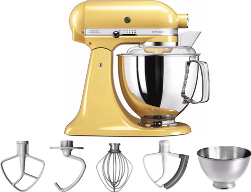 KitchenAid Artisan Mixer 5KSM175PS Pastel Yellow Main Image