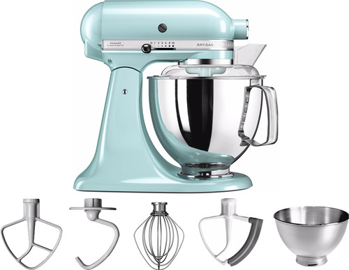 Kitchenaid Artisan Kleuren.Kitchenaid Artisan Mixer 5ksm175ps Ijsblauw