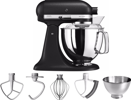 KitchenAid Artisan Mixer 5KSM175PS Vulkaanzwart Main Image