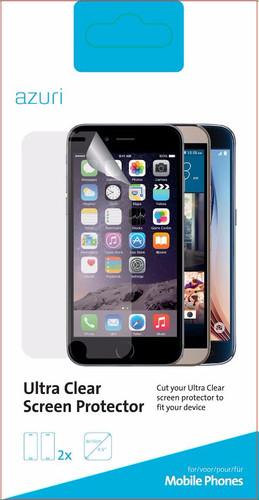 Azuri Asus Zenfone 3 Max 5.2 Inch Screen Protector Plastic Duo Pack Main Image