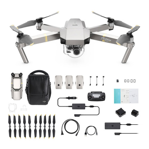 DJI Mavic PRO Platinum Fly More Combo Main Image