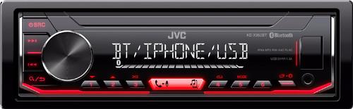JVC KD-X352BT Red Main Image