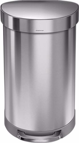 Simplehuman Semi Round 45 liter Zilver Main Image