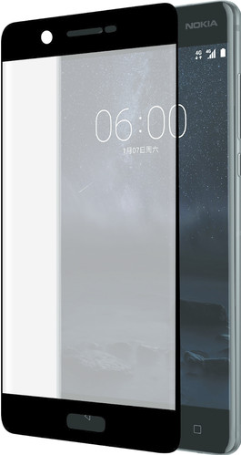 Azuri Edge to Edge Nokia 5 Screen Protector Glass Black Main Image
