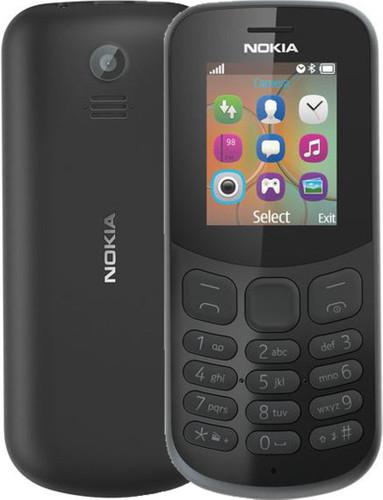 Nokia 130 (2017) Zwart Main Image