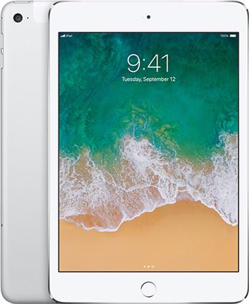 Apple iPad Mini 4 WiFi + 4G 128GB Silver Main Image