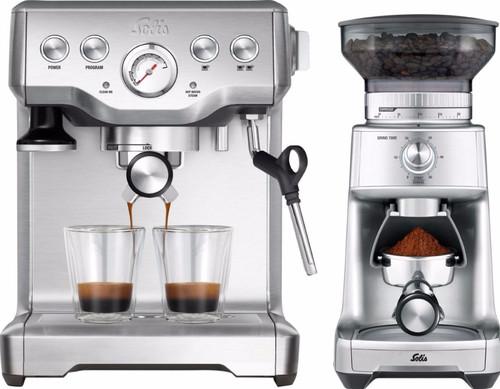 Solis Caffespresso Pro 117 + Caffissima Grinder 1611 Main Image