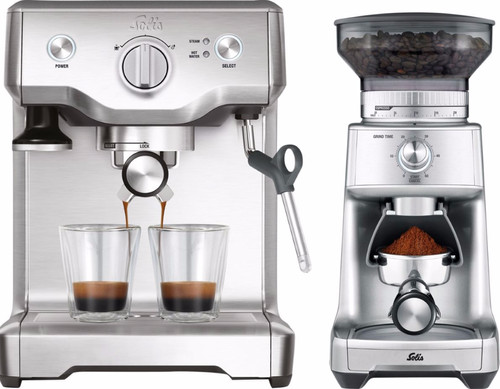 Solis Barista Perfect Pro 118 + Caffissima coffee grinder Main Image