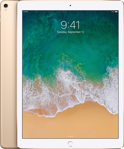 Apple iPad Pro 12.9 inch (2017) 256GB WiFi Gold Main Image
