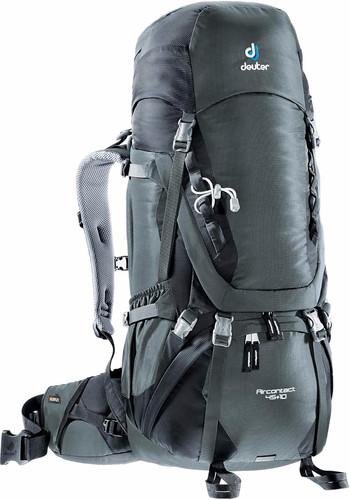 Deuter Aircontact 45 + 10 Granite/Black Main Image