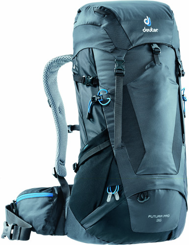3bd2f4a953c Deuter Futura PRO 36 graphite/black - Coolblue - Voor 23.59u, morgen ...