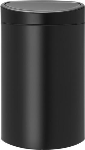 Brabantia Prullenbak 40 Liter.Brabantia Touch Bin 40 Liter Matt Black