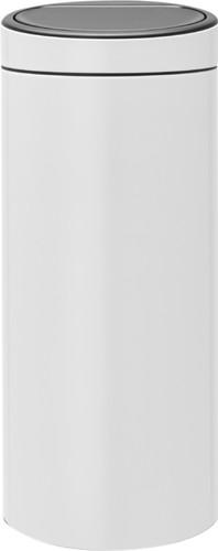 Brabantia Touch Bin 30 Liter White Main Image
