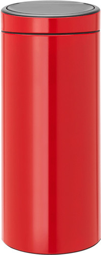 Brabantia Touch Bin 30 Liter Passion Red Main Image