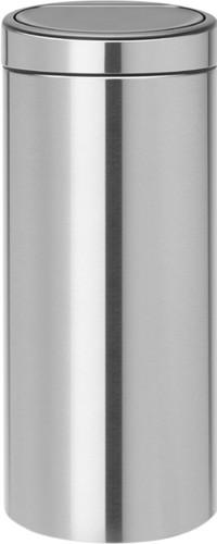 Brabantia Touch Bin 30 Liter Matt Steel FingerPrintProof Main Image