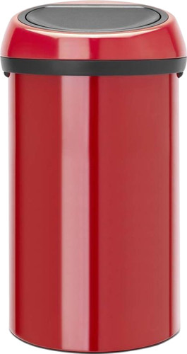 Brabantia Touch Bin 60 Liter Passion Red Main Image
