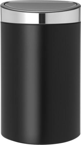 Brabantia Prullenbak 40 Liter.Brabantia Touch Bin 40 Liter Matt Black Matt Steel