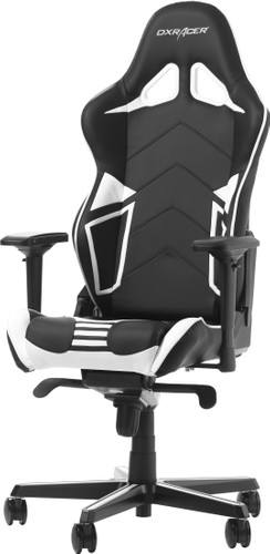 DXRacer RACING PRO Gaming Chair Black/White Main Image