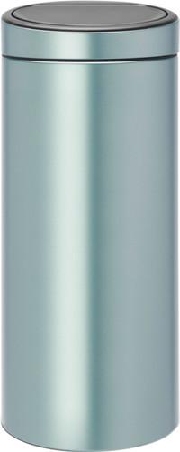 Brabantia Touch Bin 30 Liter Metallic Mint Main Image