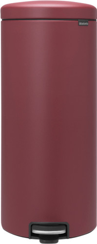 Brabantia NewIcon Pedal bin 30 Liter Mineral Windsor Red Main Image