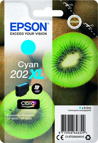 Epson 202XL Cyaan (C13T02H24010) Main Image