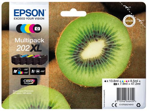 Epson 202XL 5-Color Pack (C13T02G74010) Main Image