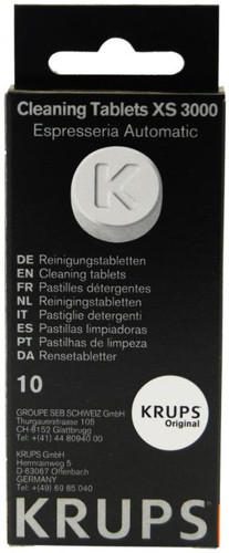 Krups Cleaning Tablets 10 pieces Main Image