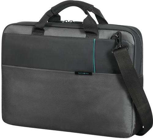 "Samsonite Qibyte Shoulder Bag 14.1"" Anthracite Main Image"
