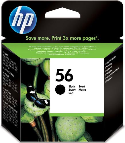 HP 56 Cartridge Zwart (HPC6656A) Main Image