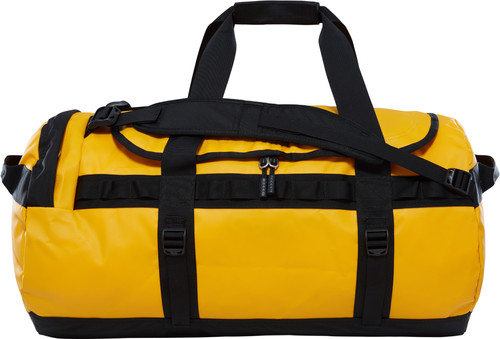 The North Face Base Camp Duffel M Summit Gold/TNF Black Main Image