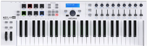 Arturia Keylab Essential 49 White Main Image
