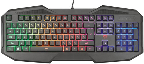 Trust GXT 830RW Avonn Gaming Keyboard QWERTY Main Image