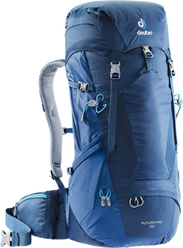 e0630aeb4e1 Deuter Futura PRO 36 Midnight/Steel - Coolblue - Voor 23.59u, morgen ...