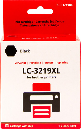 Pixeljet LC-3219XL Black for Brother Printers (LC-3219XL) Main Image