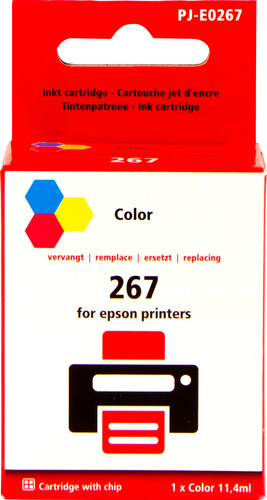 Pixeljet 267 3-Colors for Epson (C13T26704010) Main Image