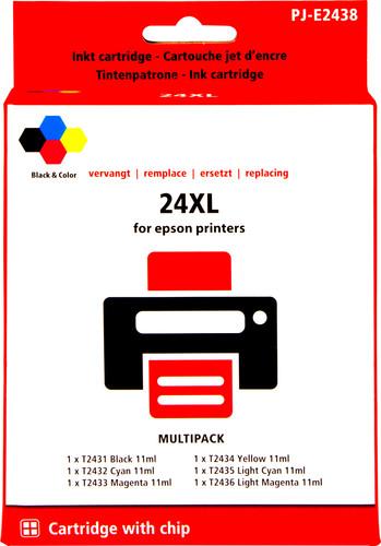 Pixeljet 24XL 6-Kleuren Pack voor Epson (C13T24384010) Main Image