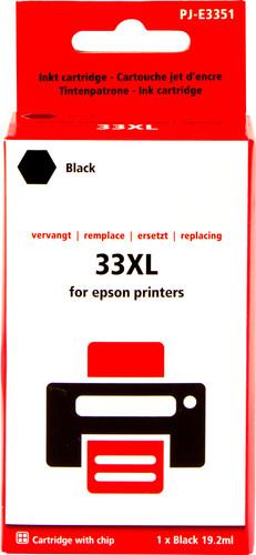 Pixeljet 33XL Zwart voor Epson (C13T33514010) Main Image