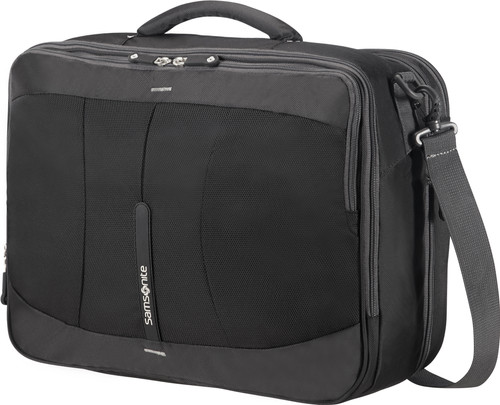 Samsonite 4Mation 3-Way Shoulder Bag Exp Black/Silver Main Image