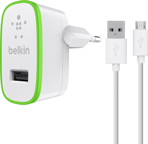 Belkin Thuislader Micro USB 2,4A 1,2M Wit Main Image